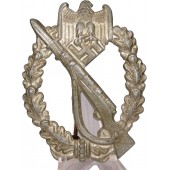 Infanterie Sturmabzeichen by Franke & Co. Hollow. Zinc