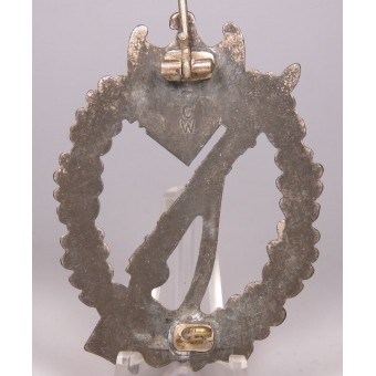 Infantry Assault Badge in Silver, Carl Wild