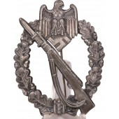 Infantry Assault Badge. Silver. Richard Simm u Sohn