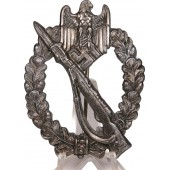 Infantry Assault Badge in silver R.S marked