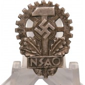 National Socialist Association of German Labor Victims (NSAO) Membership badge
