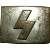 Early brass buckle for Deutsche Jungfolk ranks. RZM UE 71
