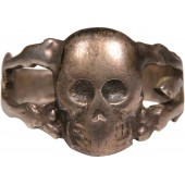 "A traditional ring with the skull - ""Battalion of Death""of the Imperial Russian Army"