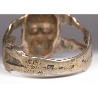 A traditional ring with the skull - Battalion of Deathof the Imperial Russian Army. Espenlaub militaria