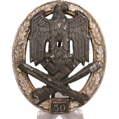 General assault badge for 50 attacks. Juncker