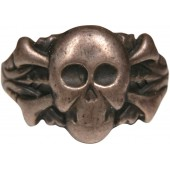 Traditional ring with skull and crossbones-3rd Reich