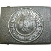 Wehrmacht aluminum buckle for the dress or walk out uniform of the enlisted ranks