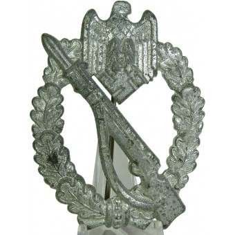 Infanterie Sturmabzeichen in Silber, Sch u. Co 41 marked. Espenlaub militaria