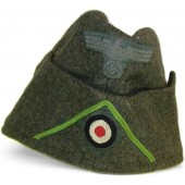 M 38 Wehrmacht Heeres side hat for motorized infantry or panzergrenadier