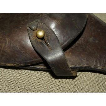 Soviet pre war holster, re-issued by German soldier. Espenlaub militaria