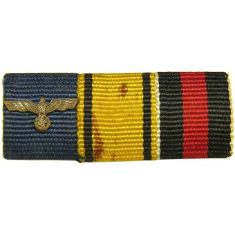 Wehrmacht officer ribbon bar. Espenlaub militaria