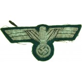 Wehrmacht officers or highest NCOs bullion embroidered breast eagle