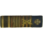 WW1 and WW2 awards ribbon bar