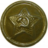 14 mm M 41 small size star button for gymnasterka and other uniforms