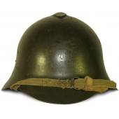 1938 dated SSch-36 Soviet helmet with red star