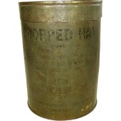 Chopped ham can, Lend Lease product for USSR