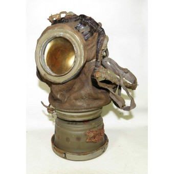 German M 1917 Gas mask with canister. Espenlaub militaria