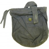Gray cotton canteen cover