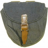 Grey canvas PPSch ammopouch