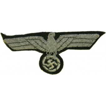 Heeres/Army embroidered breast eagle for officers. Espenlaub militaria