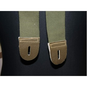 Lend lease US made trousers suspenders. 1943 year. Espenlaub militaria