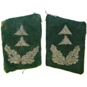 Luftwaffe Wartime Official, Administrative collar tabs in rank of Regierungsassessor