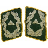 Luftwaffe Wartime Official, Administrative-High Grade Career, in rank Amtsrat collar tabs
