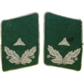 Luftwaffe Wartime Official, Administrative -Middle Grade Career Z collar tabs