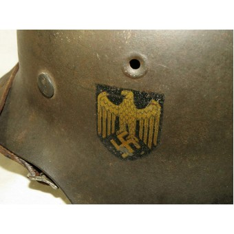 M 42 Single decal Kriegsmarine helmet. Espenlaub militaria