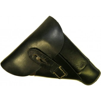 Mauser HSC or Walther PPK black leather holster  jhg 44. Espenlaub militaria