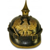 Preussen Pickelhaube- leather spike helmet