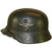 Q 68 Single decal Luftwaffe helmet.