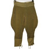 Red Army field service breeches. Lend lease US diagonal wool made