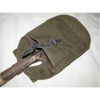 Russian big sappers shovel- BSL, pouch. War time circa 1942. Espenlaub militaria