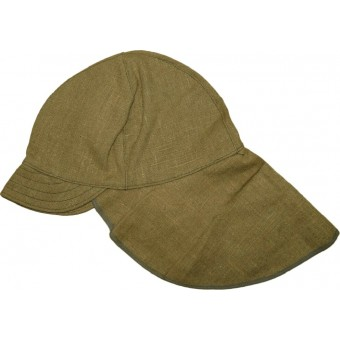 Soviet canvas hat used by Destruction battalions of NKVD troops. Espenlaub militaria