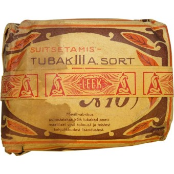 Tobacco LEEK  WW2 period  made in occupied  Estonia. Espenlaub militaria