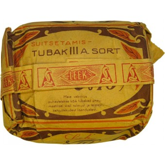 Tobacco made during the War in occupied Estonia. Espenlaub militaria