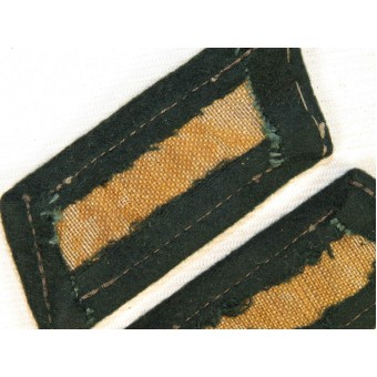 Wehrmacht Heer enlisted personal Infantry collar tabs. Espenlaub militaria