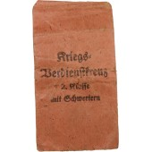 E. Schmidthäusler KVK II 1939 mit Schwertern (with Swords) packet of issue