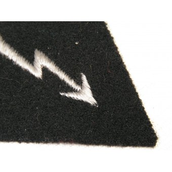 Waffen SS trade patch for enlisted man of signals troops