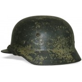 M 35 Double decal Wehrmacht heer Normandy camo helmet