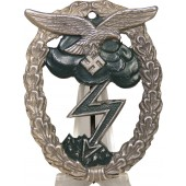 Arno Vallpach. Ground assault badge of Luftwaffe