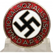 NSDAP party badge made by Gustav Brehmer М1 /101 marked