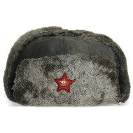 Red Army Winterhat M40, mid-end war issue