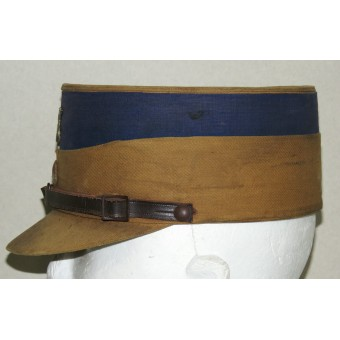 Salty SA Kepi with the navy blue band for the district of Gruppe Hessen. Espenlaub militaria