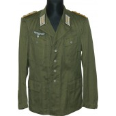 Tropical Wehrmacht tunic, 26th  reconnaissance regiment