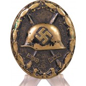 German 1939 wound badge, black class