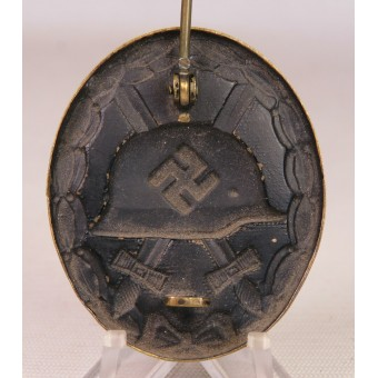 German 1939 wound badge, black class. Espenlaub militaria