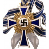 Gold grade of the cross of the German mother 1938