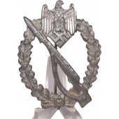 Infantry assault badge in silver Ernst L Muller